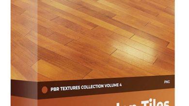 Photo of دانلود تکسچر چوب کفسازی تایل دار (با کیفیت 8کا) CGAxis – Wooden Tiles PBR Textures