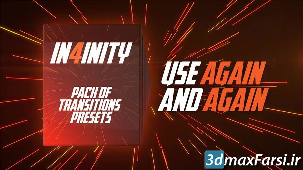 دانلود ترانزیشن برای پریمیر پرو motionarray : In4inity. Pack of Transitions' Presets