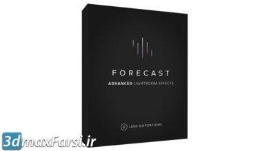 دانلود پریست لایت روم Lens Distortions Forecast (LR) Cinematic Photo Effects lightroom