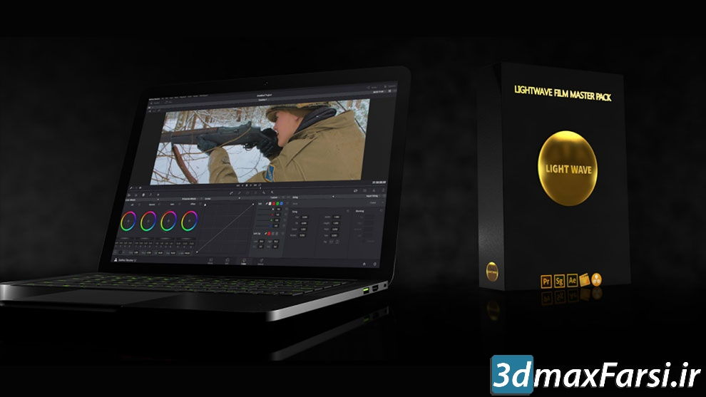 دانلود بهترین پریستسینمایی پریمیر افترافکت داوینچی LightWave Film LUT Master Pack v3