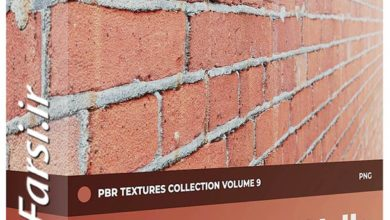 Photo of دانلود تکسچر آجر سنتی و مدرن CGAxis Brick Walls PBR Textures Collection Vol 9