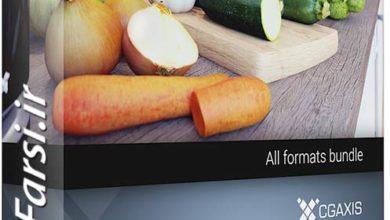 Photo of دانلود آبجکت فست فود غذا و خوراکی CGAxis Collection Volume 58 3D Food IV