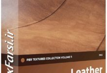 Photo of دانلود متریال چرم مبل CGAxis Leather PBR Textures Collection Vol 11