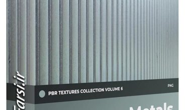 Photo of دانلود متریال فلز (تکسچر آلومینیوم) CGAxis Metals PBR Textures Collection Vol 6