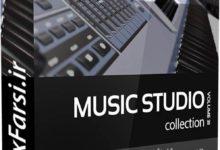 Photo of دانلود آبجکت آلات موسیقی CGAxis Models Volume 31 Music Studio