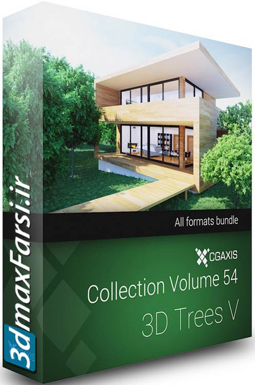 دانلود Download CGAxis Models Volume 54 3D Trees V