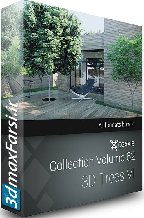 CGAxis Models Volume 62 3D Trees VI vray 3ds max