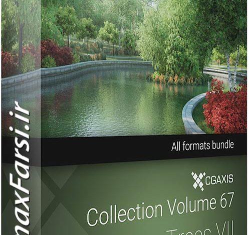 دانلود مدل سه بعدی درختان برگریز CGAxis Models 67 Trees VII
