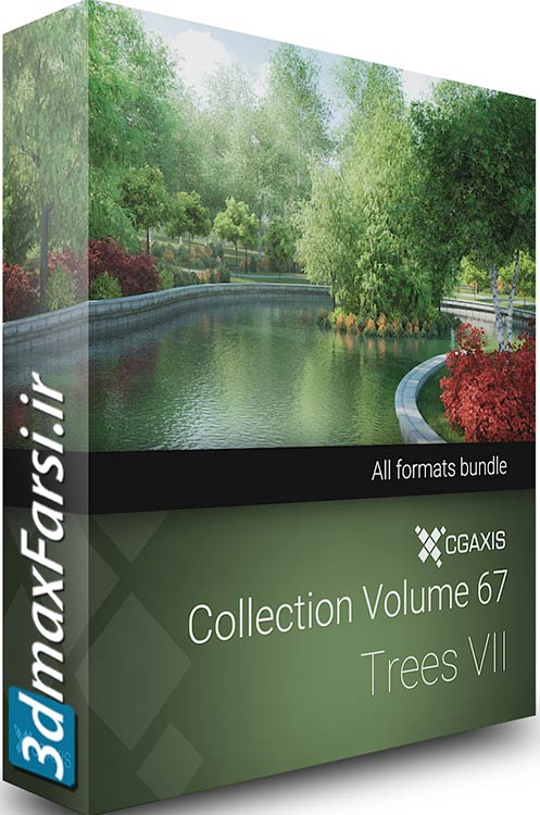 Download CGAxis Models Volume 67 Trees VII vray 3ds max