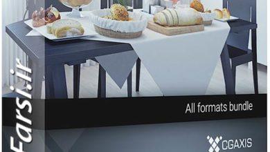Photo of دانلود مواد غذایی سه بعدی تری دی مکس ویری CGAxis Models 71 3D Food V