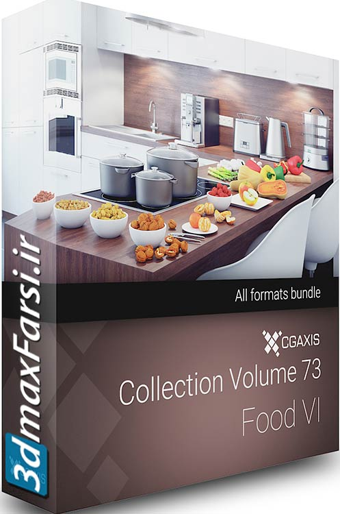 Download CGAxis Models Volume 73 3D Food VI