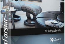 Photo of دانلود مبلمان سه بعدی سی جی اکسیس CGAxis Models Vol.75 Furniture VI