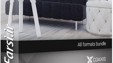 Photo of مدل سه بعدی آماده مبلمان اتاق نشیمن CGAxis Models V.78 Furniture VII