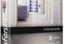 Photo of مدل سه بعدی درب های آماده ساختمان CGAxis Models Volume 79 – DOORS II