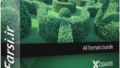 Photo of دانلود ابجکت درخت برای تری دی مکس Cgaxis Models Volume 89 Hedges 3d
