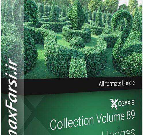 دانلود ابجکت درخت تری دی مکس Cgaxis Models 089 Hedges 3d