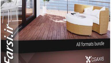 Photo of دانلود آبجکت مبلمان باغ ویلا استخر CGAxis Models Volume 51 3D Garden Furniture