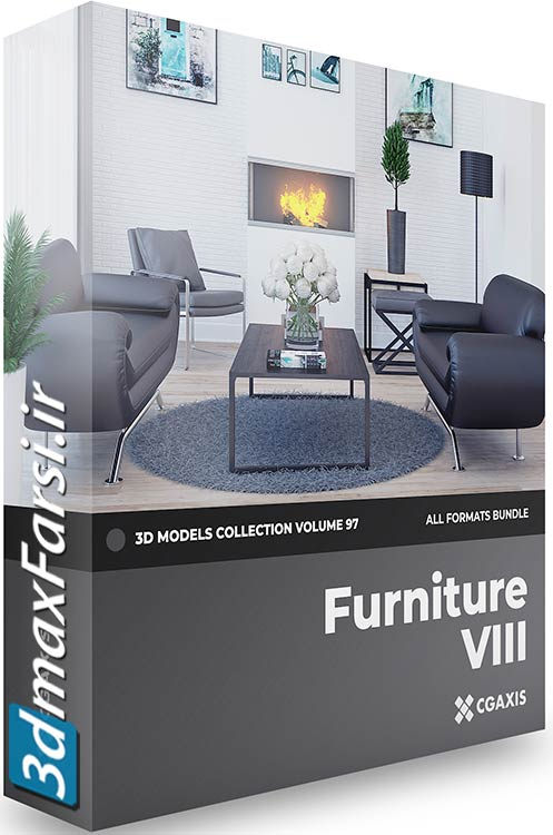 CGAxis Furniture 3D Models Collection Volume 97 free download