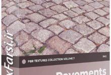 Photo of دانلود متریال کف سازی معماری CGAxis Pavements PBR Textures Collection V7