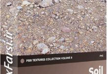 Photo of دانلود تکسچر خاک زمین CGAxis Soil PBR Textures Collection Volume 8