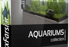 Photo of دانلود آبجکت آکواریوم مدرن CGAxis Models Volume 24 Aquariums