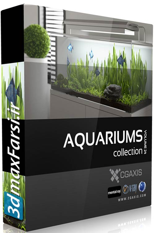 Download Cgaxis Models Volume.024 Aquariums