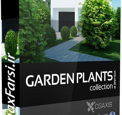 دانلود پکیج گل و بوته خانگی زینتی Download CGAxis Models Garden Plants