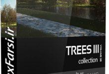 Photo of دانلود درخت های سه بعدی واقع گرایانه CGAxis Models Volume 28 Trees III