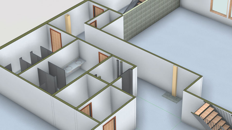 طراحی با رویت Revit 2019: Professional Office Interior Design