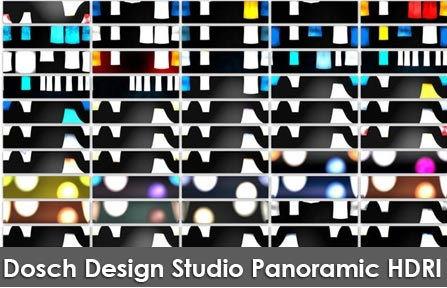 دانلود تصاویر اچ دی آر Dosch Design Studio Panoramic HDRI