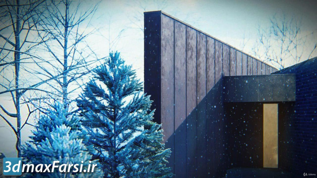 یادگیری سریع لومیون Lumion 9: Photorealistic Archviz in Just 2.5 Hrs