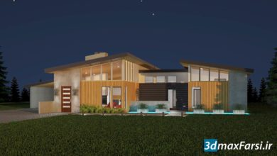 Photo of آموزش رندرگیری نمای بیرونی 3ds Max and V-Ray: Exterior Lighting and Rendering