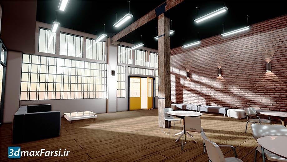 آموزش رویت و آنریل انجین در شبیه سازی معماری Lynda – Revit to Unreal for Architecture, Visualization, and VR