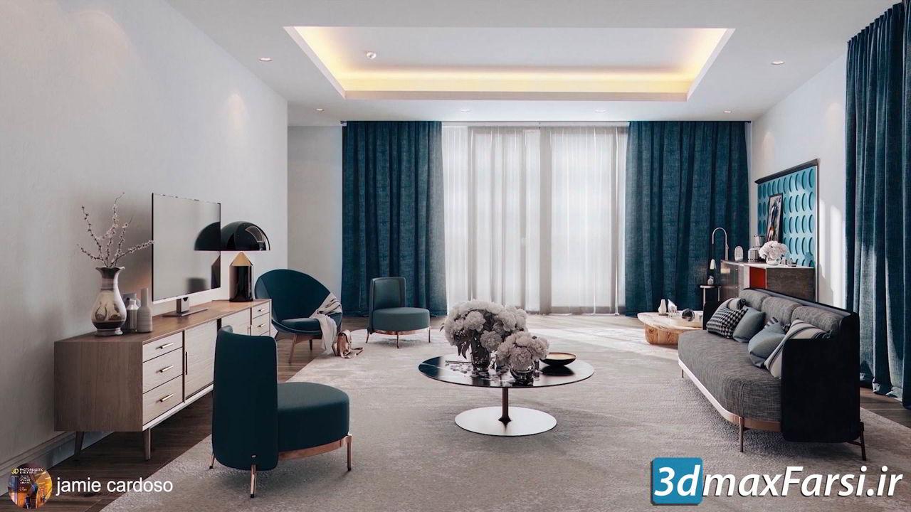 Learn Vray 3ds Max Interior Rendering Tutorials 3dmaxfarsi
