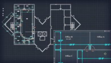 Photo of آموزش اندازه گذاری اتوکد نقشه های معماری Annotating Architectural AutoCAD