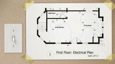 Photo of آموزش نقشه کشی برق اتوکد Drawing Electrical Plans in AutoCAD