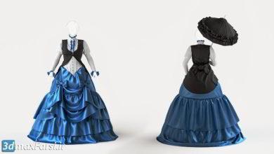 Photo of آموزش طراحی و دوخت لباس سبک ویکتوریا : مارلوس دیزاینر Marvelous Designer