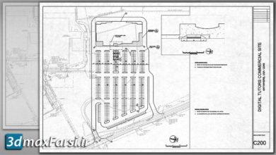 Photo of آموزش طراحی سایت پلان اتوکد Professional Site Design and Plan Production AutoCAD