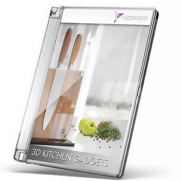 دانلود مجموعه لوازم آشپزخانه Viz-People – Kitchen Gadgets