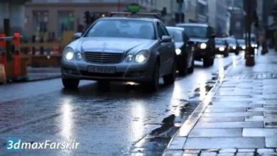 آموزش شبیه سازی افکت باران بر روی فیلم (افتر افکت و نرم افزار موکا)
