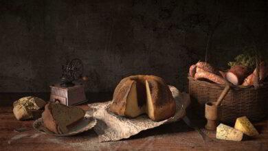 مدل سه بعدی غذا Evermotion - Archmodels Vol 151 Food