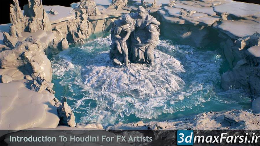 دانلود آموزش REBELWAY – Intro to Houdini FX Artists