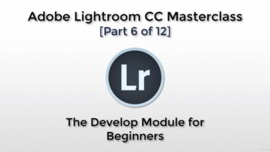 تصویر آموزش لایت روم Udemy – Adobe Lightroom CC – The Develop Module for Beginners