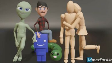 Udemy – Ultimate Blender 3D Character Creation & Animation Course