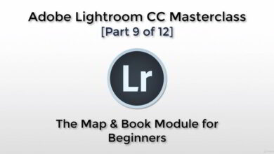 تصویر آموزش لایت روم Adobe Lightroom CC – The Map & Book Module for Beginners
