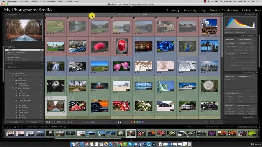 آموزش لایت روم Adobe Lightroom CC – The Web Module & Publishing Images