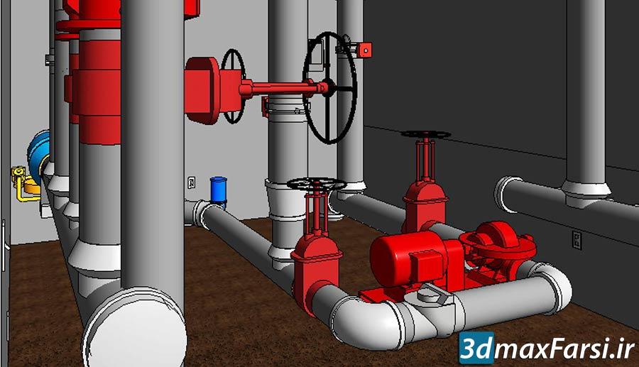 آموزش طراحی لوله کشی مکانیکی رویت Revit MEP Mechanical & Plumbing Certified Professional