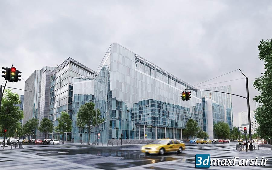 مدل سه بعدی ساختمان شهری Evermotion – Archmodels Vol 203