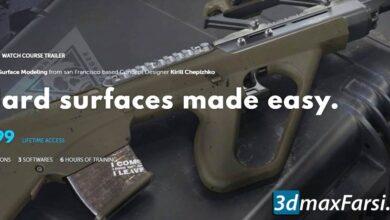 آموزش Learn Squared – Hard Surface Modeling with Kirill Chepizhko