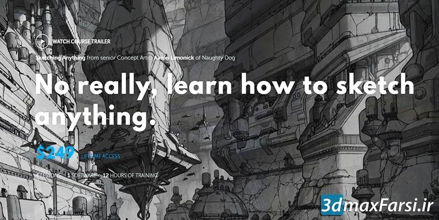 آموزش Learn Squared – Sketching Anything with Aaron Limonick